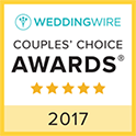 Wedding Wire Couples Choice Badge 2017